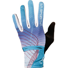 La Sportiva Trail Gloves Women Malibu Blue/Berry